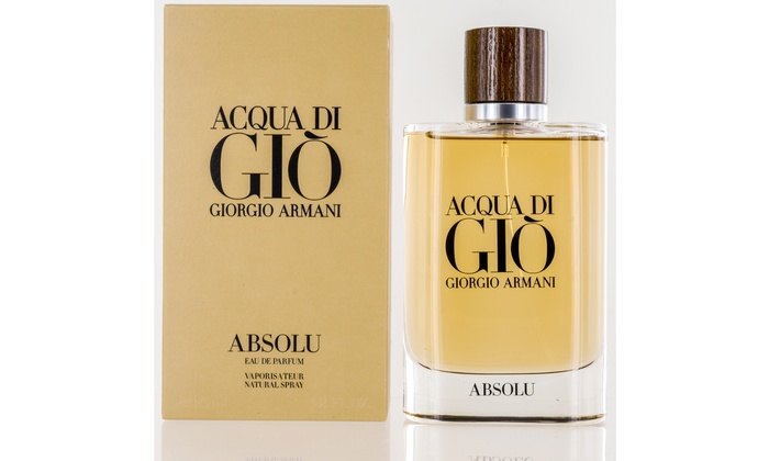 Acqua Di Gio Absolu For Men By Giorgio Armani Eau De Parfum Spray