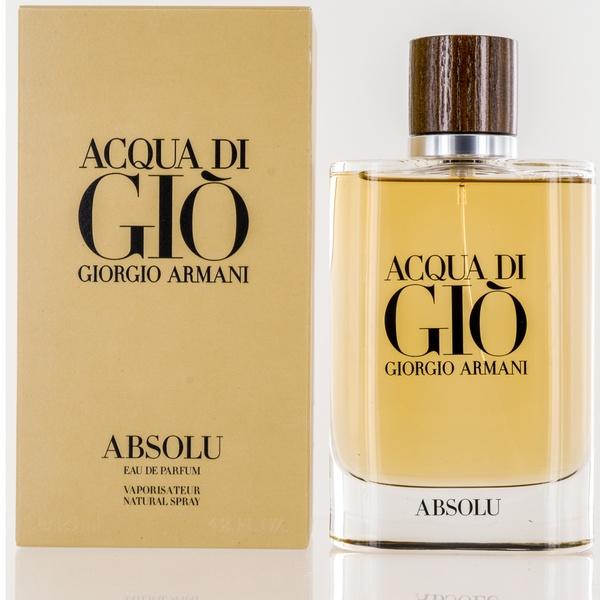 Acqua Di Gio Absolu For Men By Giorgio Armani Eau De Parfum Spray