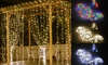 300 LED Window Curtain String Light 8 Modes Fairy Lights for Wedding Party Decor