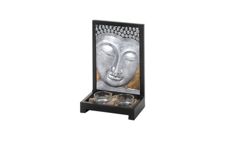 Koehler Home Decor Buddha Plaque Candle Decor 86dd75f5-3582-4a6e-9194-d46e34cf7eb0
