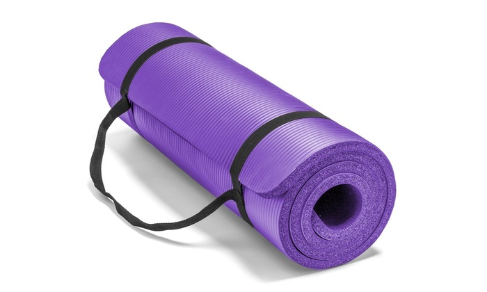 Off On Yoga Exercise Mat Thick Non