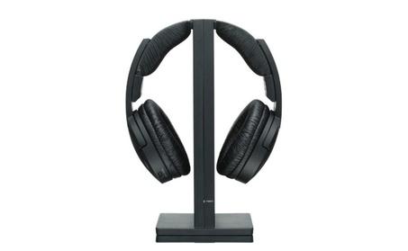 Wireless RF Headphone, Black abe7601d-1a55-4701-b296-eba185b7fc4a