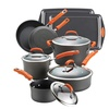 Rachael Ray Hard-Anodized II 12-Piece Cookware Set with Bakeware