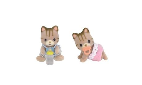 International Playthings - Calico Critters Sandy Cat Twins 68fdd1ab-eabf-4407-86a8-ae66a2adb881