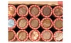 Mister Money Bags: 5 Unsearched US Wheat Penny Shotgun Rolls/250 Coins /Lincoln Pennies