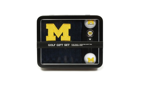 Team Golf University of Michigan Golf Gift Set 91823d4b-0f05-4b86-b839-e747366fddd4