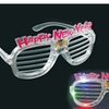 New Years Eve LED Party Shutter Shades Glasses