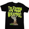 Plants Vs. Zombies Zombies Ate Your Brains Mens Black T-Shirt