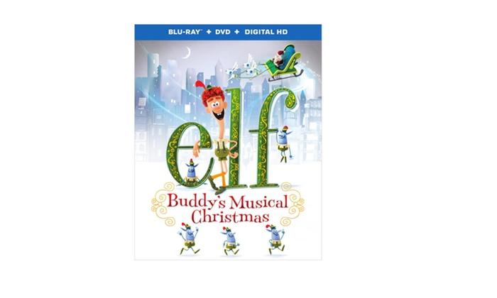 Elf Buddys Musical Christmas.Elf Buddy S Musical Christmas Blu Ray Dvd Ultraviolet Combo