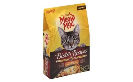Meow mix bistro recipes rotisserie chicken flavor dry cat food, 3 lb e5b07b24-c51f-4356-b7da-b67b82c1c3c4