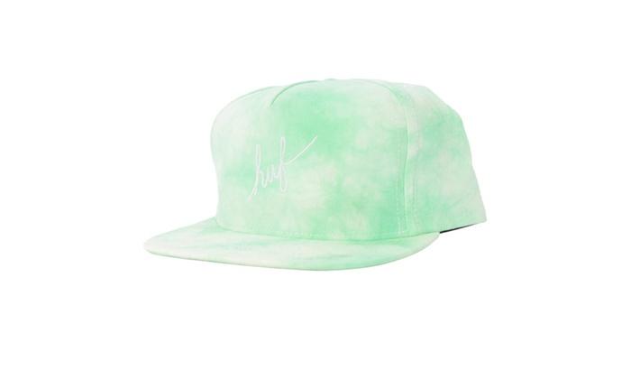 Crystal Wash Script Snapback CAP One Size