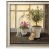 Lavender Window Garden by Angela Staehling