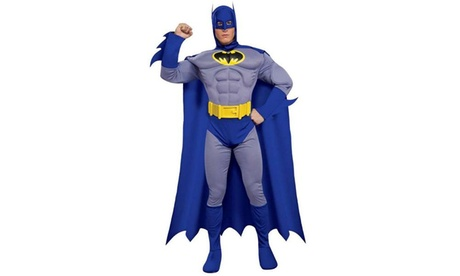 Batman Brave and Bold Deluxe Muscle Chest Adult Costume 8a810b71-bf81-420f-8d0d-7026c671e86c