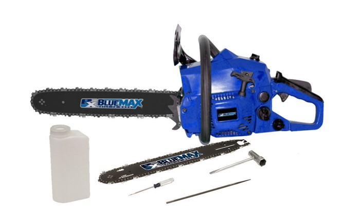 "Blue Max 14"" & 18"" Combo Chainsaw ) 38cc EPA"