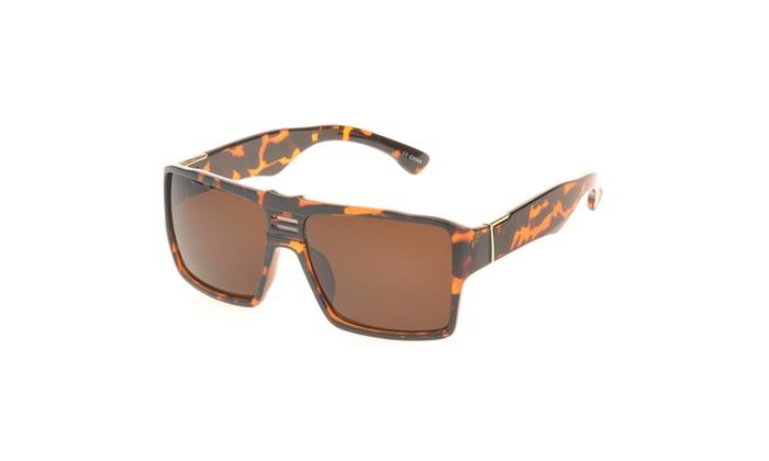 MLC Eyewear 'Delano' Rectangle Fashion Sunglasses