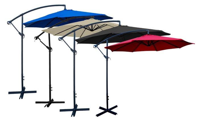 Apontus 10 Feet Patio Offset Umbrella