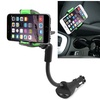 Insten Car DC Charger Phone Holder Mount Dual USB For iPhone 6 6s Plus