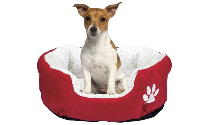 Red Pet Bed Groupon