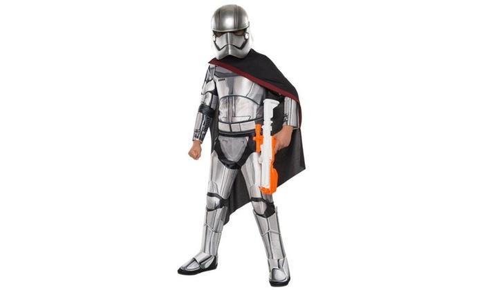 Star Wars Episode VII - Captain Phasma Super Deluxe Costume For Girls ...  sc 1 st  Groupon & Star Wars Episode VII - Captain Phasma Super Deluxe Costume For ...