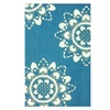 nuLOOM Vista Collection Hand Made Area Rug, 5' x 8', Blue