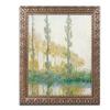 Claude Monet 'The Three Trees Autumn' Ornate Framed Art