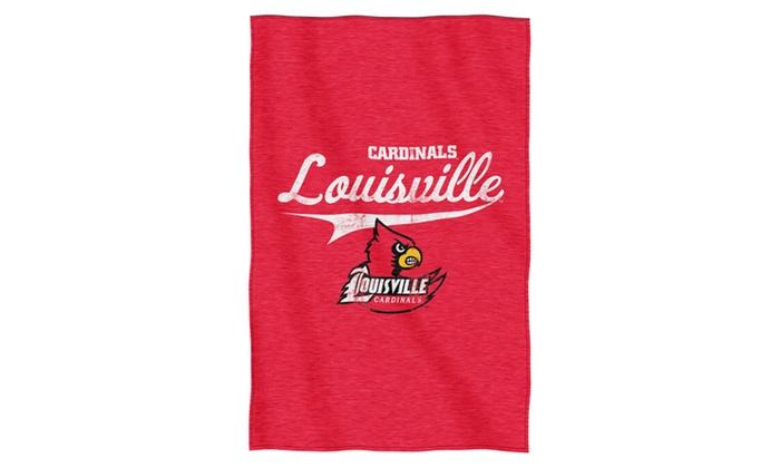 COL 100 Louisville Sweatshirt Throw