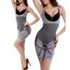 Womens Bamboo Charcoal Slimming Bodysuit
