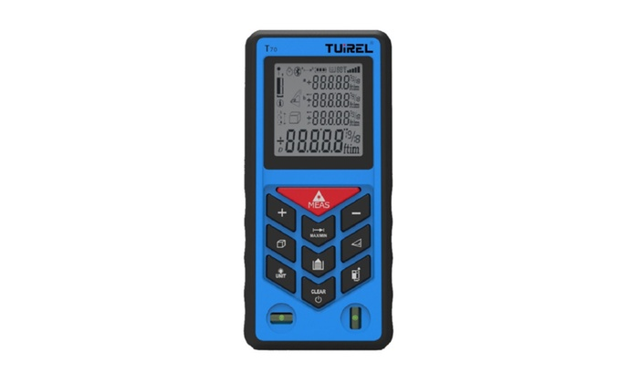 TUIREL® Laser Distance Measurer 229ft/70m Handheld Range Finder