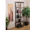 Lennon 5-Shelf Wood Bookshelf