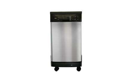 """Sunpentown 18"""" Portable Dishwasher with Energy Star - Stainless 110bd91d-50d1-4f40-9346-a882068eb148"""