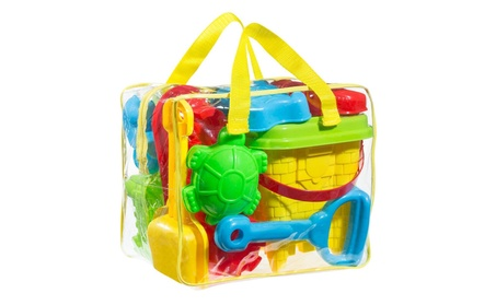 Beach Sand Toy Set includes Models and Molds Bucket Shovels Rakes 08d8f336-06d1-4352-8796-aff6259819e8