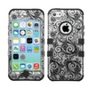 Insten Four Leaf Clover Dual Coated Silicone Case For Iphone 5c White