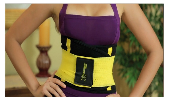 32050761bdeb9 Xtreme Yellow Power Belt Shapers Tecnomed Support Hot Gym Workout