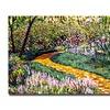 David Lloyd Glover Deep Forest Garden Canvas Print