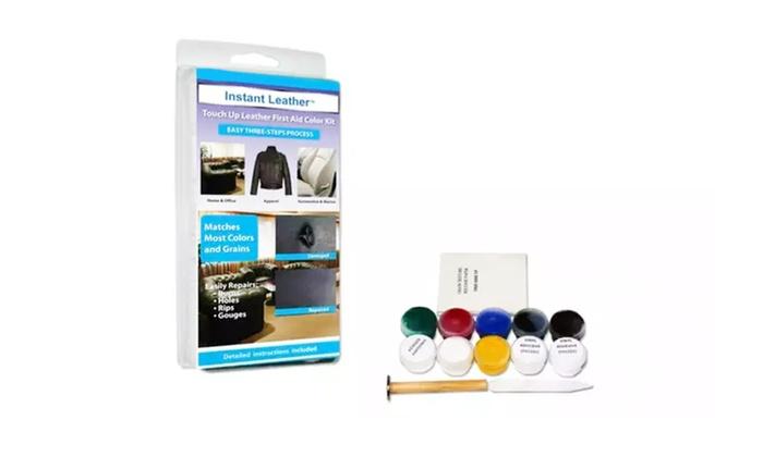 3-Step Heat Cure Leather & Vinyl Repair Kit