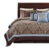 Wonder Home TURIN 10PC Jacquard Comforter Set