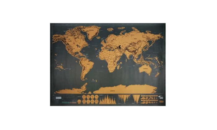 Scratch off the countries you been amazing world map groupon scratch off the countries you been amazing world map gumiabroncs Choice Image