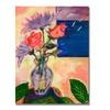 Sheila Golden Purple Sky Canvas Print