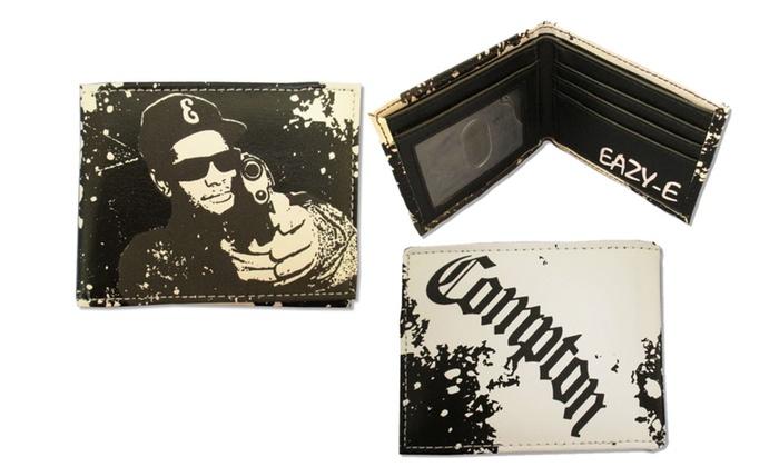 Eazy E Compton Black and White Bifold Wallet