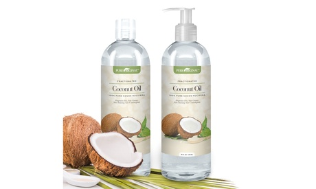 Pure Original Fractionated Coconut Oil (1 or 2 Pack) 9a08c75a-6836-408d-918a-5cc3a12c7c58