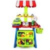 Velocity Toys Super Market Food Stall Kid's Pretend Play Food Play Set