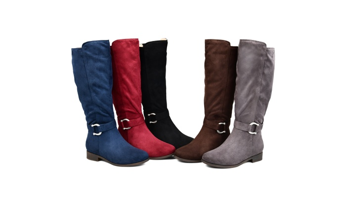 df414d9a46122 Journee Collection Womens Comfort Extra Wide Calf Cate Boot | Groupon