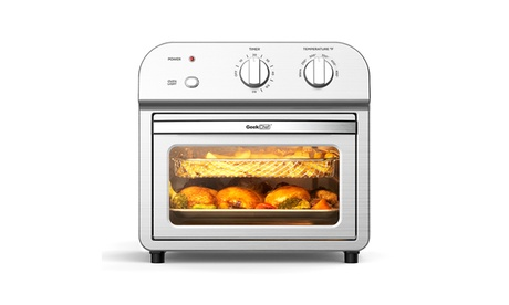 1500W 11QT Air Fryer Toaster Oven Small Kitchen Appliance with 4 Accessories photo