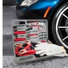 35-Piece: Roadside Emergency Kit with Jumper Cables
