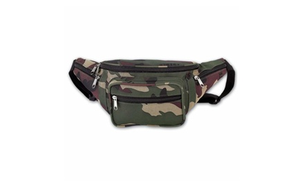 Camouflage Water-Resistant Waist Bag Fannie Pack