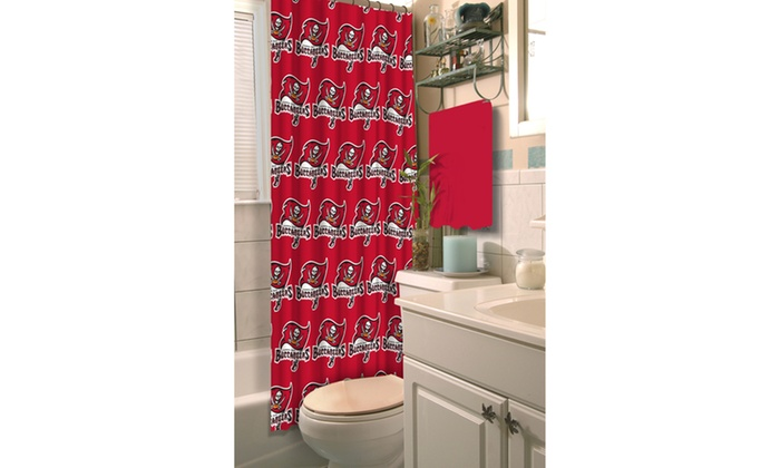 NFL 903 Buccs Shower Curtain