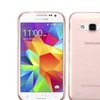 Insten Hard Transparent Crystal Case For Galaxy Core Prime Rose Gold