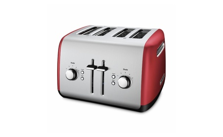 KitchenAid 4 Slice Toaster with Manual High-Lift Lever - KMT4115 photo