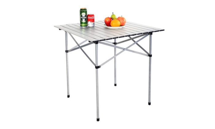 Enjoyable Roll Up Portable Folding Camping Aluminum Picnic Table Uwap Interior Chair Design Uwaporg