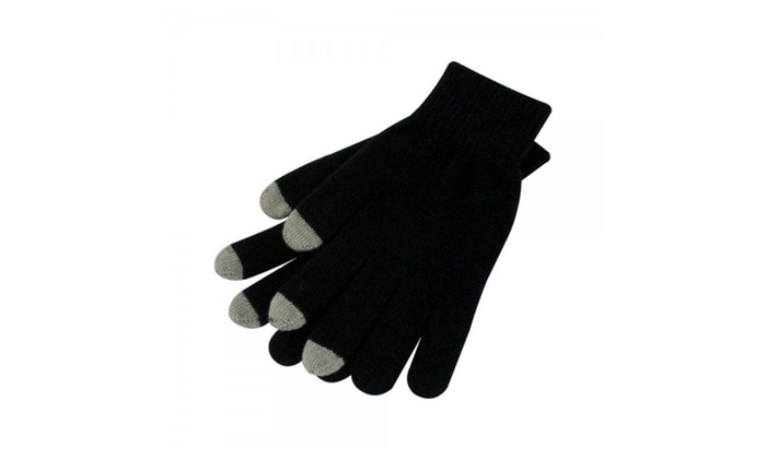 Pair of Aduro Smart Capacitive Touchscreen Compatible Gloves